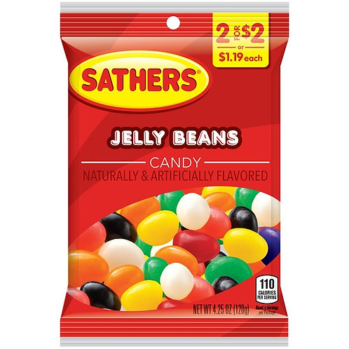 Sathers Jelly Beans 12ct. Box