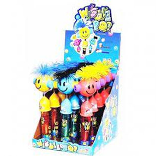 Kidsmania Wiggle Pops Toy Candy 12ct.