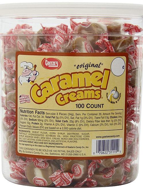 Goetze's Caramel Creams 100ct.