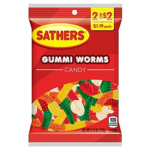 Sathers Gummi Worms12ct. Box