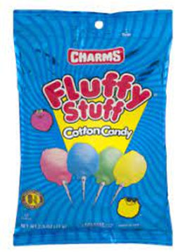 Charms Fluffy Stuff Cotton Candy 2.5oz 6ct.