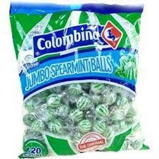Colombina Jumbo Spearmint Balls 120ct.
