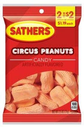 Sathers Circus Peanuts 12ct. Box