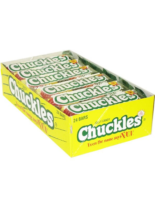 Chuckles Jelly Candy Bar Assorted 24ct.