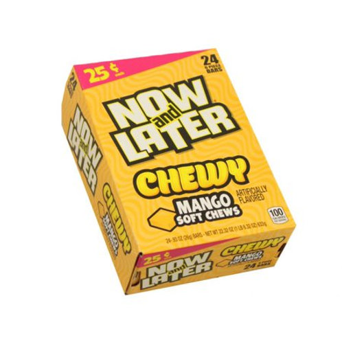 Now & Later Chewy Mango 0.93oz 24ct.