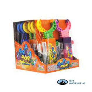 Kidsmania Grab Pop Toy Candy 12ct.