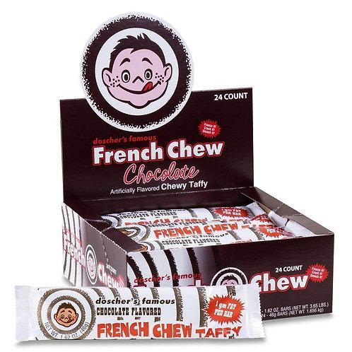 Doscher's French Chew Chocolate 1.62oz 24ct.