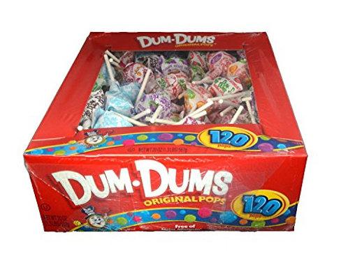 Dum Dum Assorted 120ct.