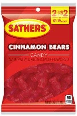 Sathers Cinnamon Bears 12ct.