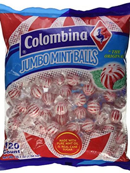 Colombina Jumbo Mint Balls 120ct.