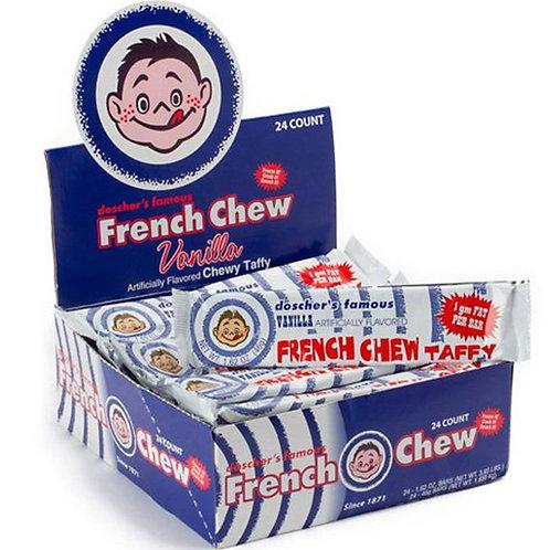 Doscher's French Chew Vanilla 1.62oz 24ct.