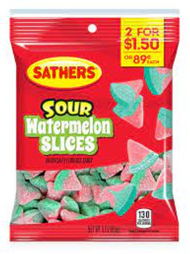 Sathers Watermelon Slices 12ct. Box