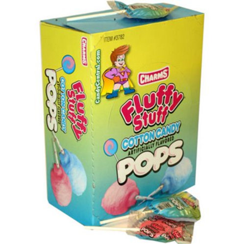 Charms Blow Pops Fluffy Stuff 48ct.