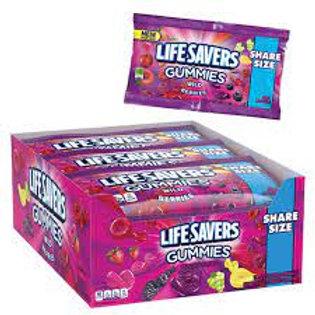LifeSavers Gummies Share Size Wild Berries 15ct.
