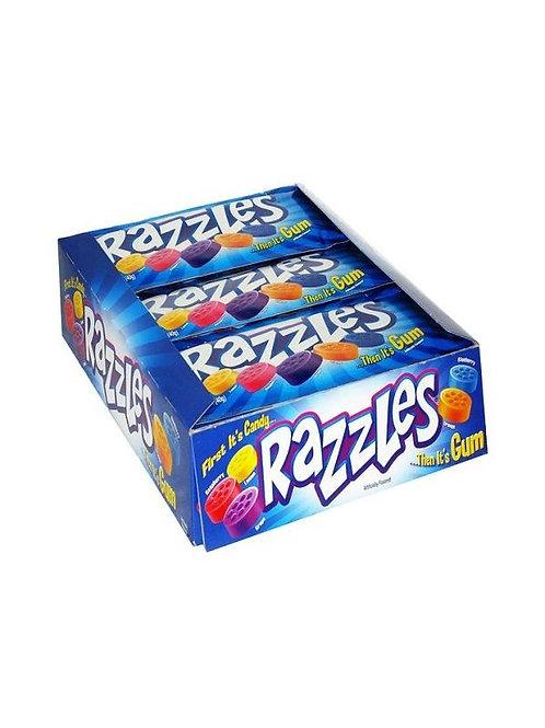 Razzles Original Candy Gum 1.4oz 24ct.