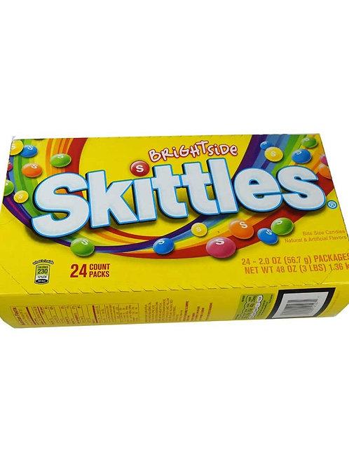 Skittles Brightside Candy 2oz 24ct.