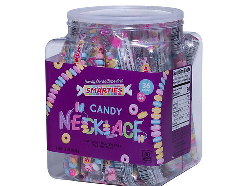 Smarties Necklace  Jar 36ct.