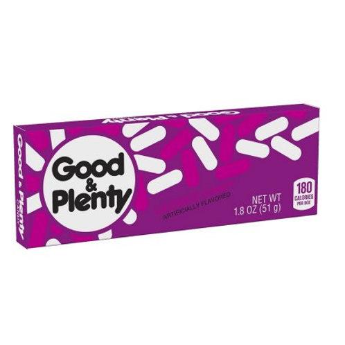Good & Plenty 1.8 oz Box 24ct.