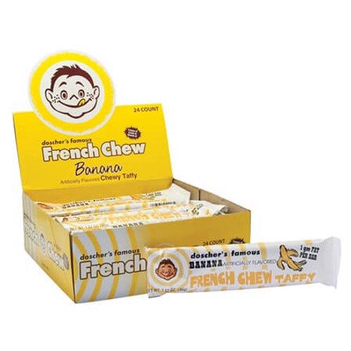 Doscher's French Chew Banana 1.62oz 24ct.
