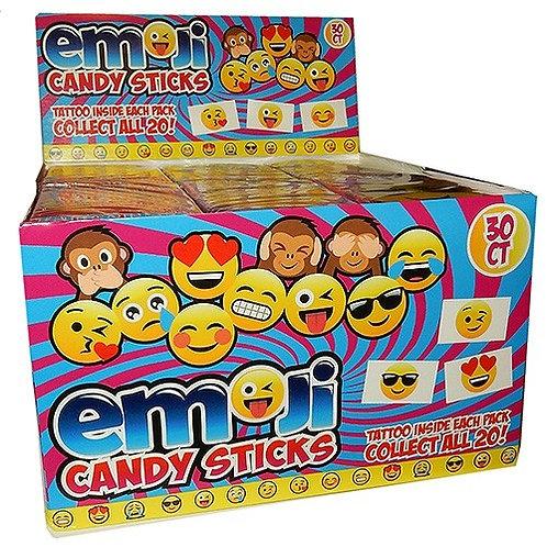 Emoji Candy Sticks 30ct.