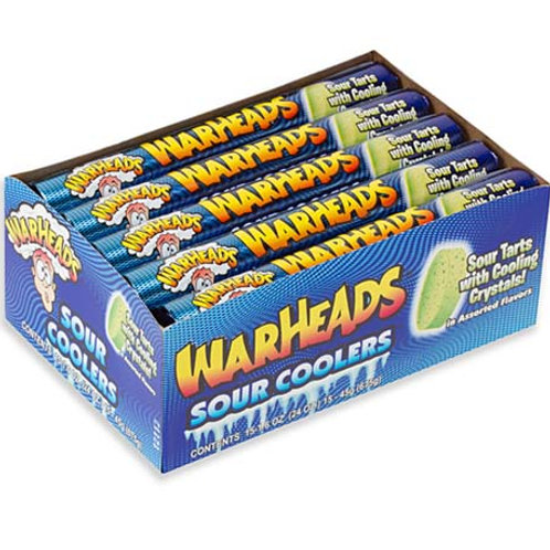 Warheads Sour Coolers 1.5oz Roll 15ct.