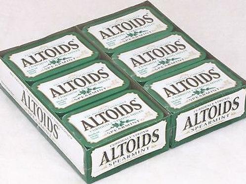Altoids Mints Spearmint 1.76oz 12ct. Tin