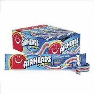 Airheads Xtremes Bluest Raspberry Belts 18ct.