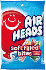 Airheads Soft Filled Bites Peg Bag 12ct.