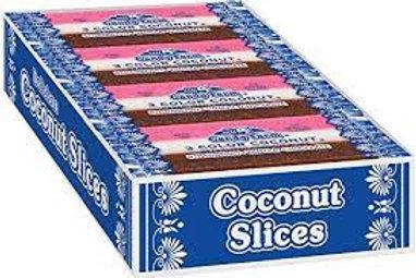 Neapolitan Coconut Slice Candy Bars 1.65oz 24ct.