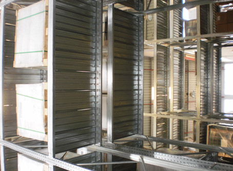 Pallet Racking - Paper Manufacturer