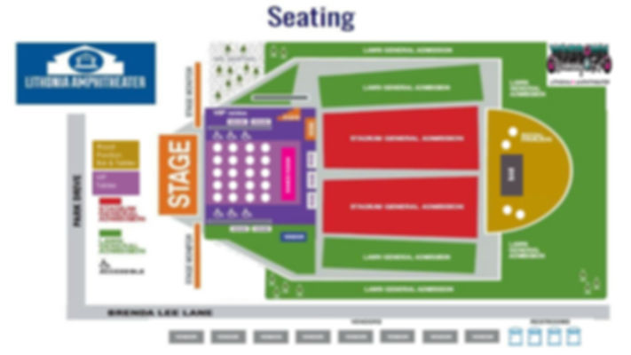 WindDown Wednesday East Seating Map