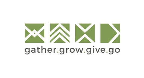 Gather.Grow.Give.Go Logo