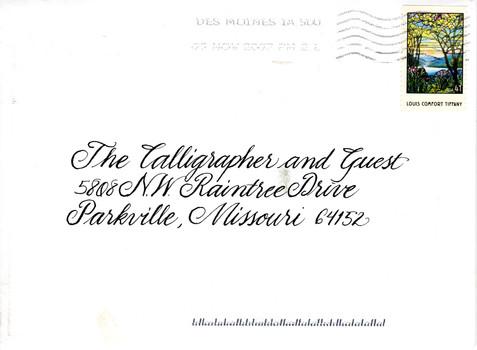 Thuesen Envelope