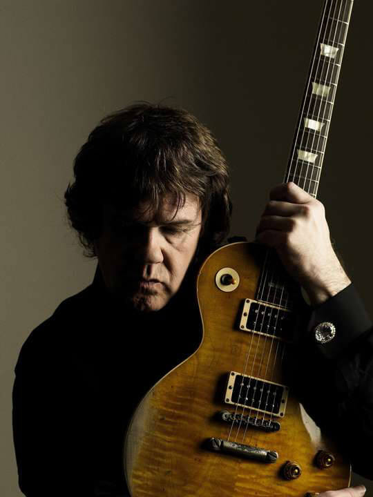 Gary Moore ve Gibson Les Paul