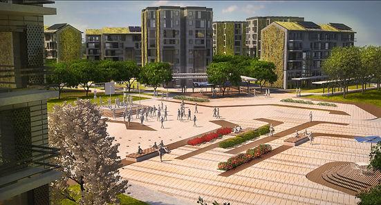 Eskişehir Kocakır Ekolojik Şehir Projesi 1. Etap