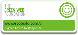 ECOBUILD Web Sitesi %100 Yenilenebilir Enerji Kullanmaktadır.