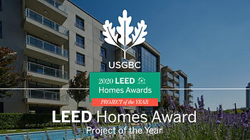 PARK MOZAİK PROJECT OF THE YEAR LEED HOM