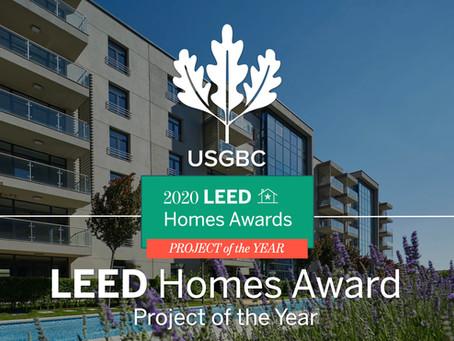 USGBC'Den Yılın Projesi Ödülünü Aldık!