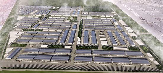 Konya Büyükşehir Yeni Motorlu Sanayi Bölgesi Yeşil Kentsel Dönüşüm SÜPERKENT Projesi