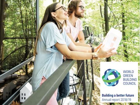 Dünya Yeşil Binalar Konseyi 2019 Yıllık raporunu Açıkladı