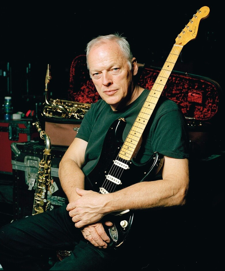 "David Gilmour ve Fender ""The Black Strat"""