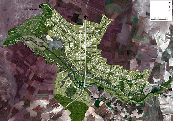 Eskişehir Kocakır Ekolojik Şehir Projesi 2. Etap