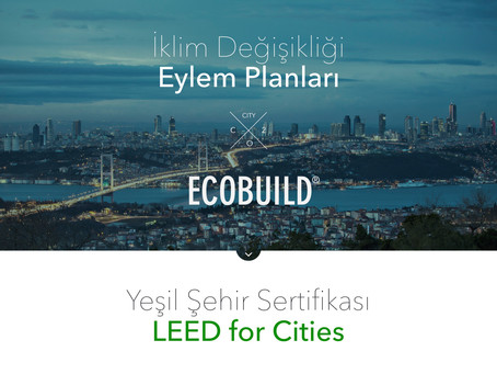 LEED for Cities Yeşil Şehir Sertifikası