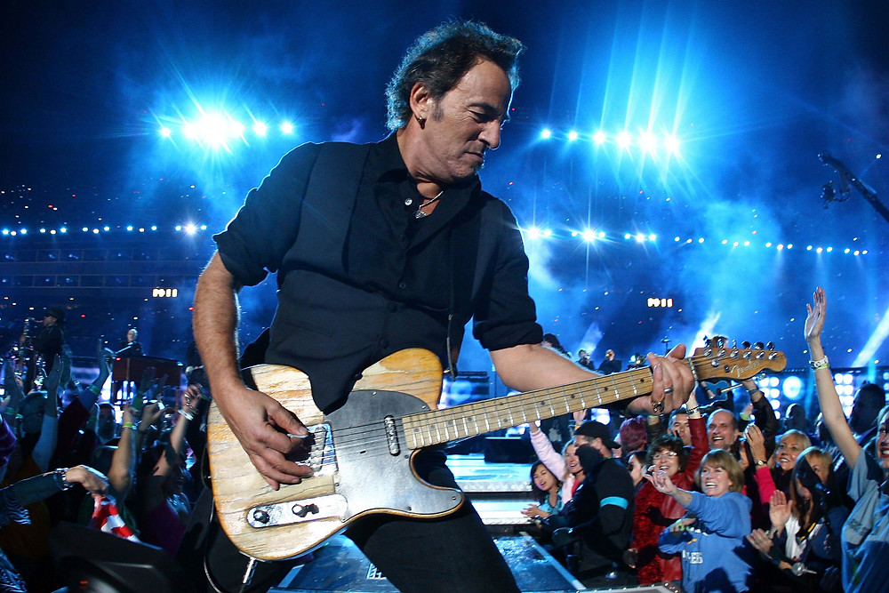 Bruce Springsteen ve Fender Esquire