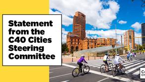 C40 Şehirleri Yürütme Komitesinden Açıklama
