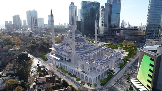 Barbaros Hayrettin Paşa Camisi Levent İstanbul