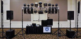 Corporate Party Ann Arbor Disc Jockey Service Michigan Deluxe Package