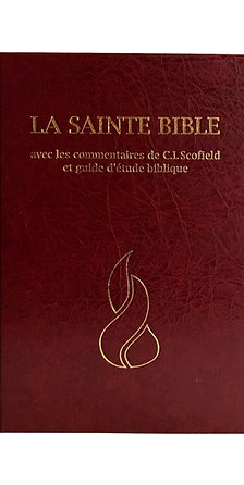 French Bible Scofield - Hard Cover