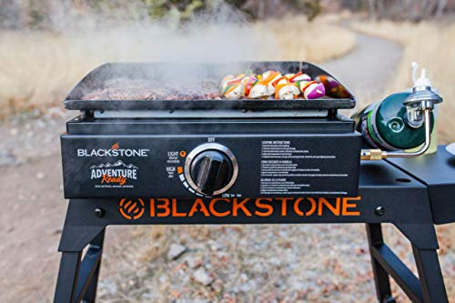 "Griddle Blackstone Adventure Ready 22"" with Hood, Legs, Adapter Hose"