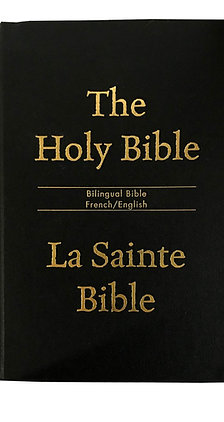 French/English Bilingual Bible NIVBB